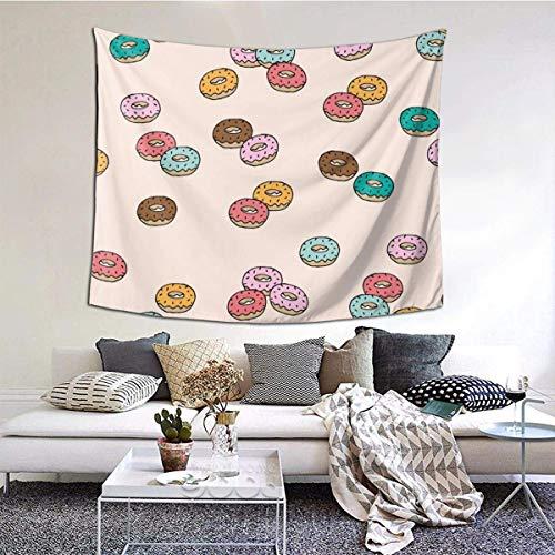 N\A Tapiz de Pared, Manta de Pared de rosquilla Colgante para Sala de Estar, Dormitorio, Cocina, Alfombra de Pared, decoración artística