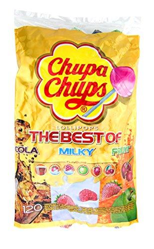 Chupa Chups 'Best Of' Bag bambini Dolci lecca lecca - 100 di