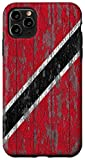 iPhone 11 Pro Max Trinidad and Tobago Rustic National Flag Case