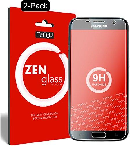 ZenGlass [2 Stück Flexible Glas-Folie kompatibel mit Samsung Galaxy S7 Panzerfolie I Display-Schutzfolie 9H I (Kleiner Als Das Gewölbte Display)