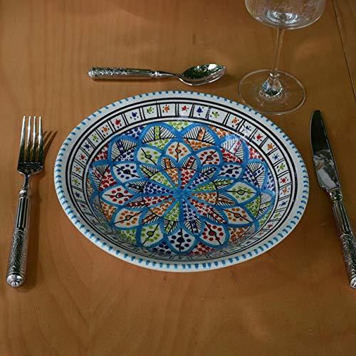 Lot de 6 assiettes creuses Bakir Royal - D 24 cm