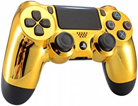 gold chrome ps4 controller