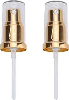 LUFOX 2PCS Foundation Pump for Estee Lauder Double Wear Foundation Bottle(Gold)