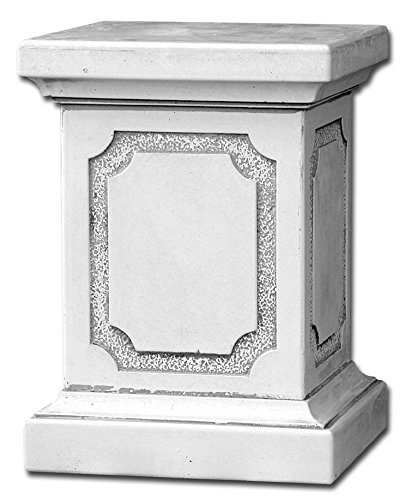 gartendekoparadies.de Massiver großer Stein Sockel Podest Säule für Statue aus Steinguss frostfest