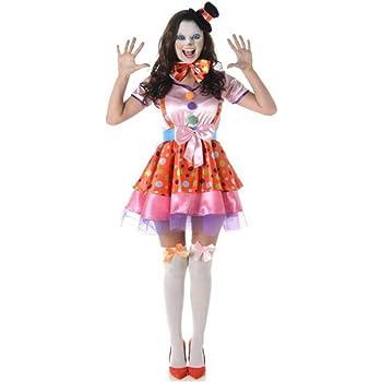 Generique Disfraz de Payaso Mujer S: Amazon.es: Juguetes y juegos