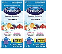 Pedialyte Powder Packs - Assorted Flavors - .3 oz - 16 ct - 2 pk by Pedialyte