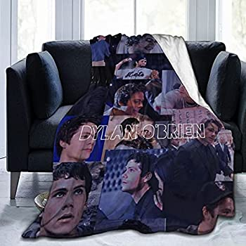 Super-Soft Dylan O Brien Blanket Lightweight Cozy Sofa Bed Blanket Suitable for Adults and Children Can Be Used As Birthday 50 X40