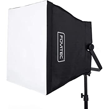 """Fovitec - 19"""" Square Softbox for 600 LED Panels for Photo and Video"""