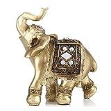 Zerodis Escultura, Elefante Decorativo La Artesanía El Feng Shui Oficina Hogar Decoración Ornamentos Los Regalos Figura Escultura Arte(S)