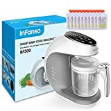 Infanso Baby Food Maker Food Processor BF300 for Infants and...