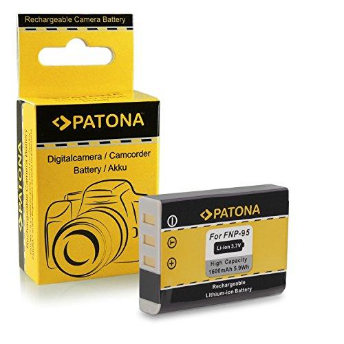 Batería NP-95 NP95 para Fuji Fujifilm FinePix F30 | F-30 | F31 | F-31 | F31fd | F-31fd | X100 | X100s | X-S1 | FinePix Real 3D W1 y mucho más… [ Li-ion; 1600mah; 3.7V ]