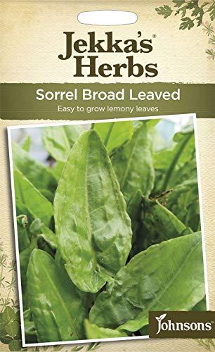 Portal Cool Johnsons - Jekka'S Herbes - Paquet Pictorial - Sorrel feuillues - 650 graines