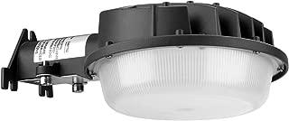 Hyperlumen LED Outdoor Lights Dusk to Dawn Barn Light Photocell Included 50W 250-400W Equiv.5500K Daylight Flood Light Wall Mount Security Light 6000LM Yard Lights or Area Light