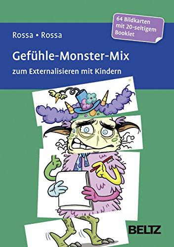 Gefühle-Monster-Mix zum Externalisieren mit Kindern: 64 Bildkarten mit 20-seitigem Booklet in stabiler Box, Kartenformat 1x98x143 und 3x49x143 mm. ... Mit Online-Material (Beltz Therapiespiele)