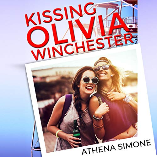 Kissing Olivia Winchester audiobook cover art