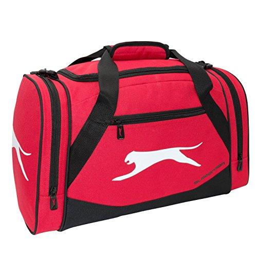Slazenger Unisex Small Sporttas, rood, één maat