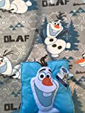 Disney Frozen All About Olaf 3D Pillow & Throw Blanket 2 Pieces Set