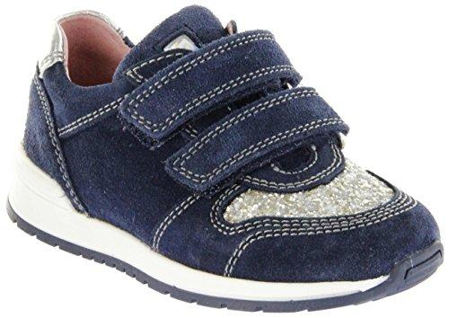 Richter Kinder Halbschuhe Sneaker blau Velourleder Mädchen Schuhe 3331-342-7201 Atlantic Volley, Farbe:blau, Größe:26 EU