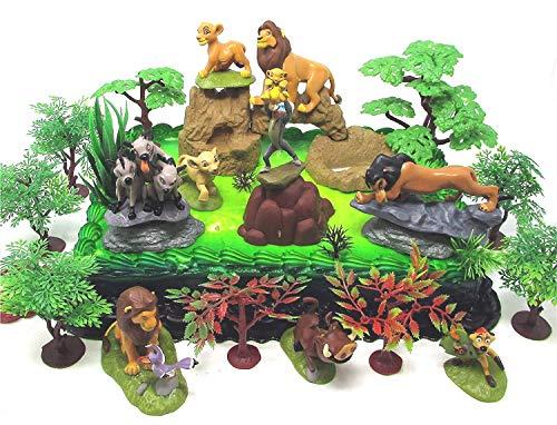 Lion King Birthday Cake Topper Set