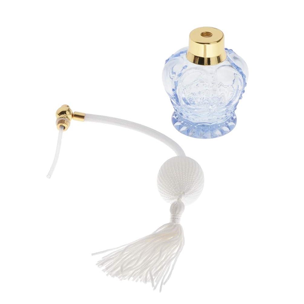 検証圧縮するスーダンHellery 100ml 香水瓶 欧風デザイン アトマイザー 香水ボトル 詰め替え プレゼント インテリア 結婚式 ホーム飾り - 白い