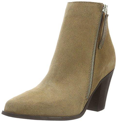 SHOOT Damen Shoes SH-216014D Kurzschaft Stiefel, Beige (Taupe), 40 EU