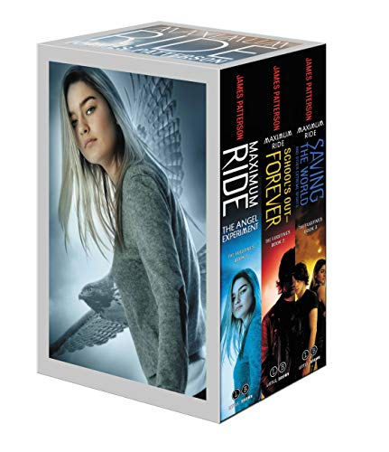 Maximum Ride Boxed Set #1: The Fugitives: The Angel Experiment/School's Out - Forever/Saving the World and Other Extreme Sports (Maximum Ride, Books 1, 2, and 3)