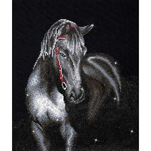 Diamond Dotz Complete Diamond Facet Art Kit Midnight Stallion