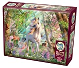 Cobble Hill 2000 Piece Puzzle - Unicorn and Friends - Sample Poster Included
