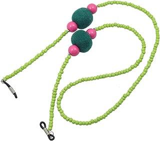 Baoblaze Colorful Bead Eyeglass Reading Glasses Cord Holder Necklace Eyewear Lanyard Holder Rope