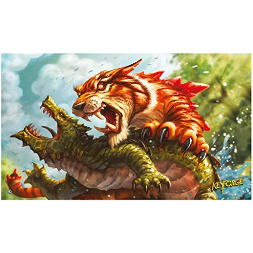 Fantasy Flight Games- Keyforge Mighty Tiger Playmat (FFGKFS08)
