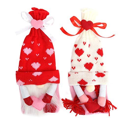 2 piezas de fundas para botellas de vino, bolsa protectora reutilizable, decoración de almacenamiento, muñeca sin rostro, regalo hecho a mano, regalo navideño, festivo, para botellas de vino, bolsas p