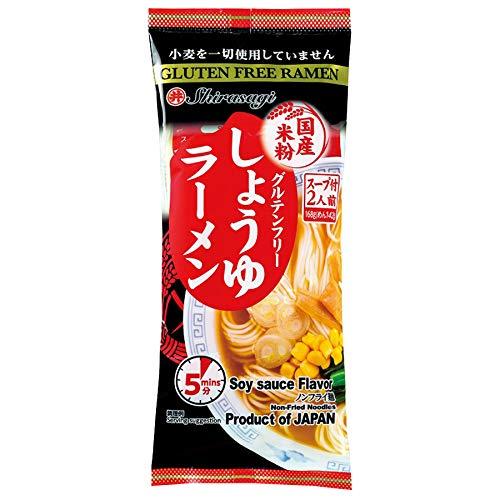 Gluten-free Rice Flour Shoyu Ramen Animal-free 2 Servings (168 g)