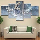 XLST 5 Stücke Plakate Athlet Stephen Curry-Spritzen Bild