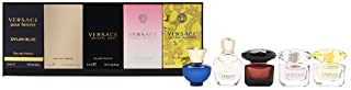 Versace Dylan Blue EDP Set For Women - 1 EDP +EROS (W) EDP +CRYSTAL NOIR EDT + BRIGHT CRYSTAL EDT + YELLOW DIAMOND 5 ml
