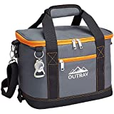 Outrav Orange Insulated Cooler Bag – 6L Collapsible Thermal Lunch Bag with Bottle Opener, 16 Can...