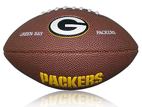 Wilson Football NFL Greenbay Packers Logo, Braun, Mini, WL0206264220