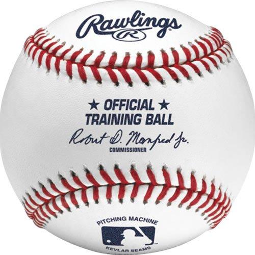 Rawlings Pitching Machine Baseballs, Box of 12, ROPM