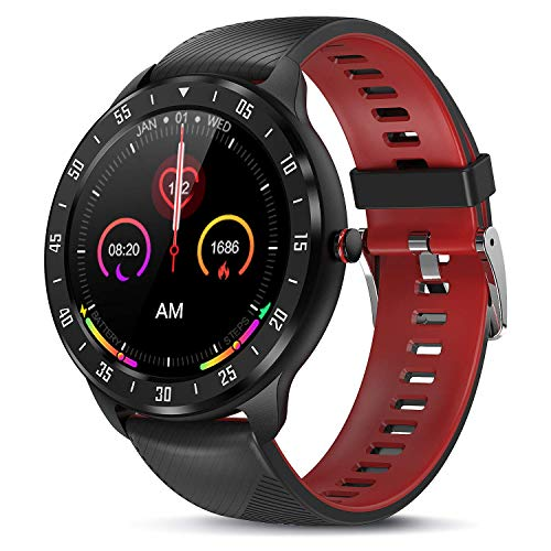 Tagobee Smartwatch Orologio Fitness Uomo Donna Impermeabile ZL05 Smart Watch Digitale Touch Bluetooth Sportivo Activity Fitness Tracker Contapassi Calorie Cardiofrequenzimetro da polso per Android iOS