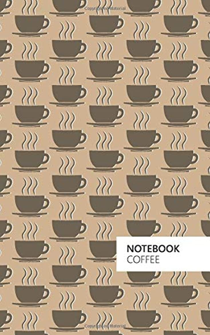 Coffee Notebook: (Latte Edition) Fun notebook 96 ruled/lined pages (5x8 inches / 12.7x20.3cm / Junior Legal Pad / Nearly A5)