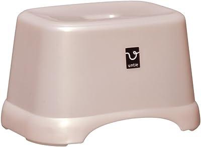 シンカテック 角型 風呂椅子 CL Untie アンティ シルバーピンク