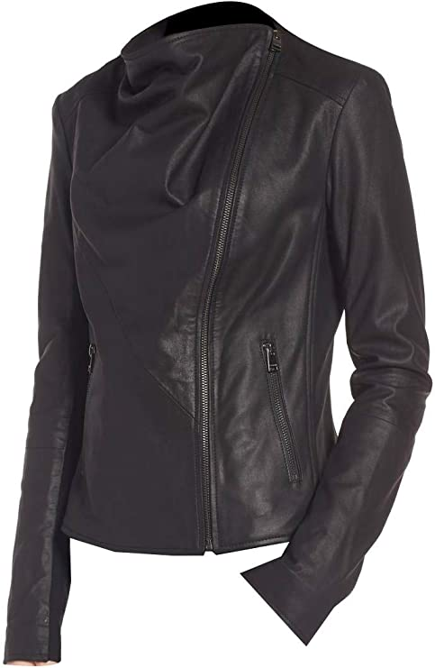 Guaranteed delivery within 4 working  days after dispatch Designer genuine  leather  Handmade Plus size womans Leather jacket