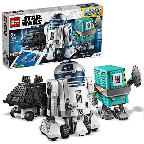 LEGO StarWars ComandanteDroide BOOST,3Giocattoli Robot in 1, comprendeR2-D2,Robot Interattivi Programmabili Controllati via App,Set di Codifica per Bambini, 75253
