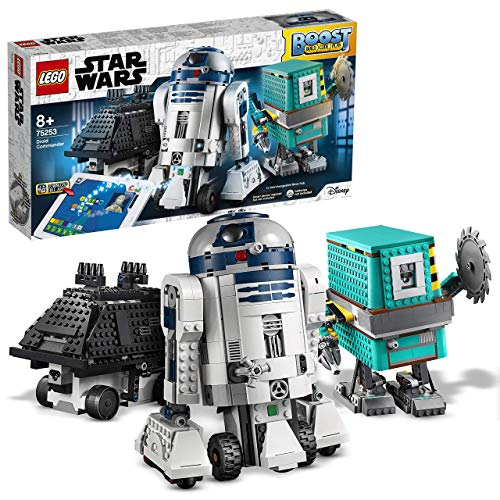 LEGO StarWars ComandanteDroide BOOST,3Giocattoli Robot in 1, comprendeR2-D2,Robot...