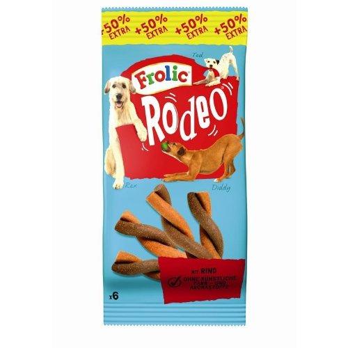 Frolic Snack Rodeo mit Rind | 18x6 Stück Hundesnack Kausnack