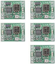 Qunqi 5pack MP1584EN Ultra Small DC-DC 3A Power Step-Down Adjustable Module Buck Converter 24V to 12v 9V 5V 3V for Arduino