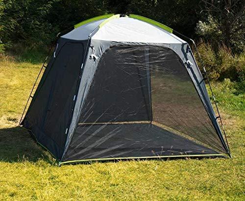 Reimo Tent Technology Zelt-Pavillon Party-Shelter-CATALANIA mit 4 Seitenwänden, 3x3m (932990556)