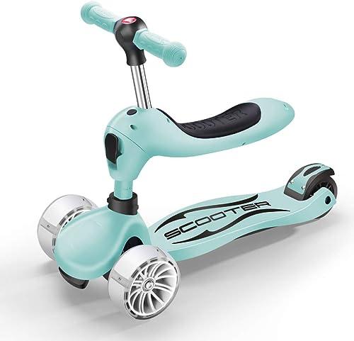 3 in 1 Kinderroller H nverstellbarer Balance-Wagen für Dreirad-Faltbare H n für 2-6-J ige