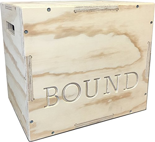 (12/14/16) Bound Plyo Box 3-in-1 Wood Puzzle Plyometric Box - CrossFit Training, MMA, or Plyometric Agility - Jump Box, Plyobox, Plyo Box, Plyometric Box, Plyometrics Box