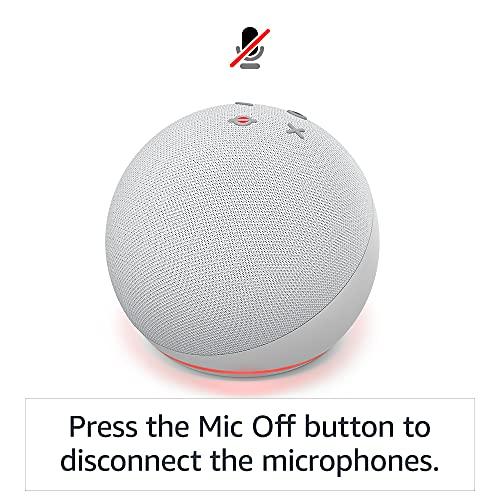 Echo Dot (4th generation)   Smart speaker with Alexa   Charcoal