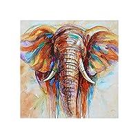 大人のアートキット(30 * 40cm)の子供の家の壁の装飾によると、DIY5Dで描かれた象の動物のオールダイヤモンドダイヤモンドの絵